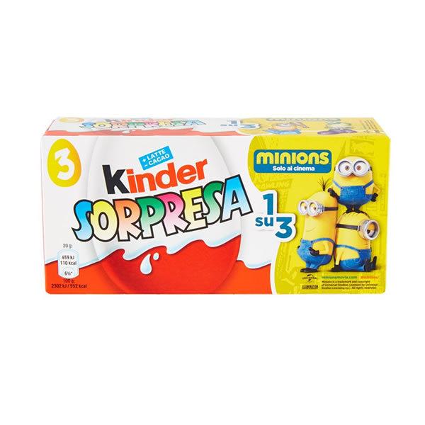 Alimentare Buonconsiglio KINDER SORPRESA GR. 20X3
