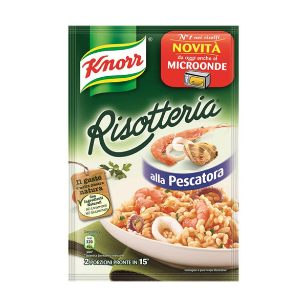Alimentare Buonconsiglio KNORR RISOTTERIA ALLA PESCATORA GR. 175