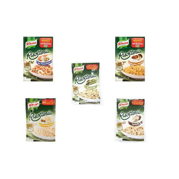 Alimentare Buonconsiglio KNORR RISOTTERIA VARI GUSTI GR. 175