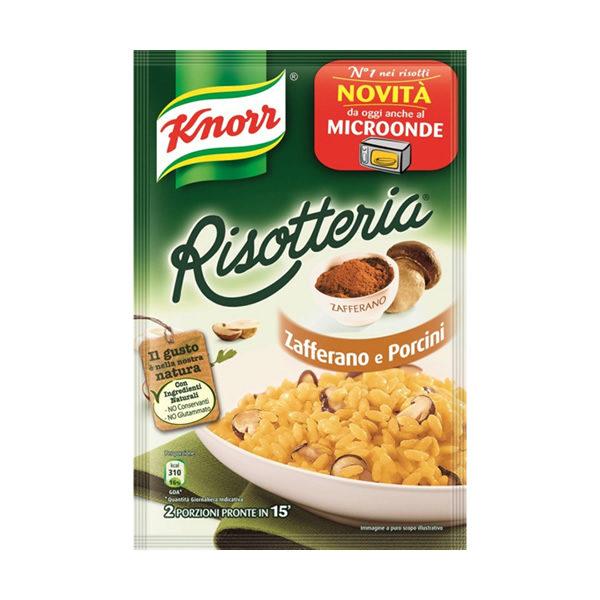 Alimentare Buonconsiglio KNORR RISOTTERIA ZAFFERANO E PORCINI GR. 175