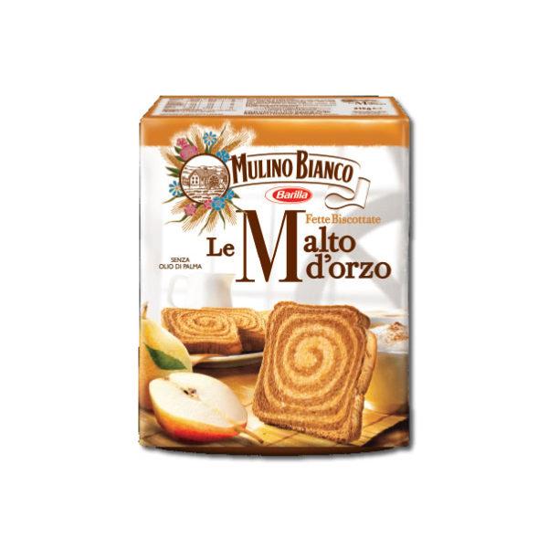 Alimentare Buonconsiglio MULINO BIANCO FETTE MALTO E ORZO x40
