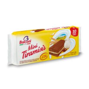 Alimentari Buonconsiglio BALCONI MINI TIRAMISU 10 PEZZI