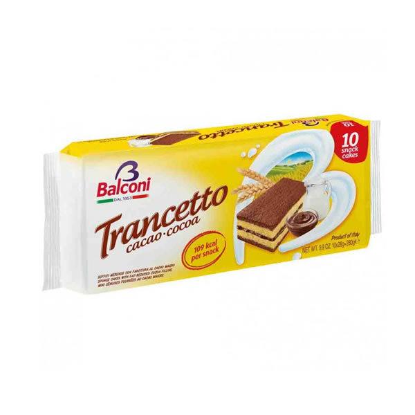 Alimentari Buonconsiglio BALCONI TRANCETTO CACAO 10 PEZZI