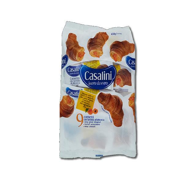 Alimentari Buonconsiglio CASALINI CORNETTI ALBICOCCA 9 PEZZI