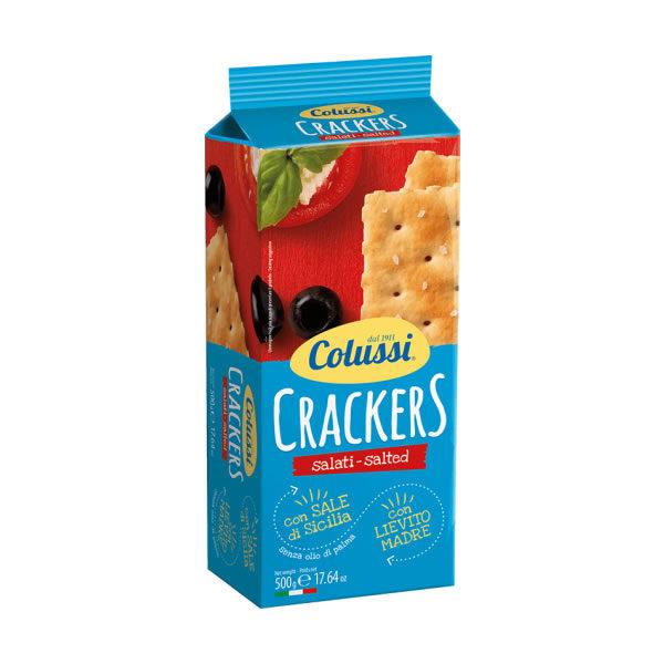 Alimentari Buonconsiglio COLUSSI CRACKER SALATI GR. 500