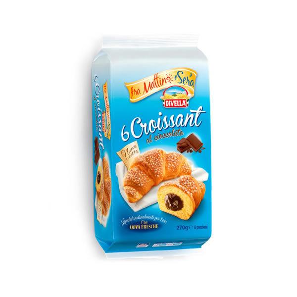 Alimentari Buonconsiglio DIVELLA CORNETTI CIOCCOLATO 6 PEZZI