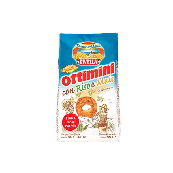 Alimentari Buonconsiglio DIVELLA OTTIMINI CON RISO E MAIS 400 GR