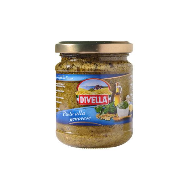 Alimentari Buonconsiglio - DIVELLA PESTO ALLA GENOVESE CLASSICO GR. 190