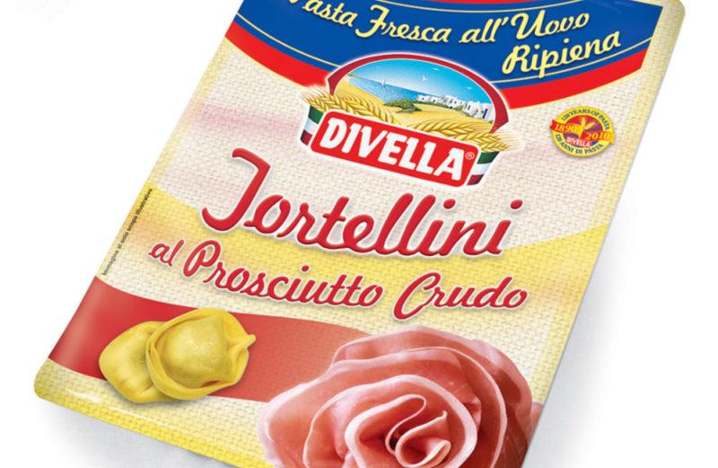 Alimentari Buonconsiglio - DIVELLA TORTELLINI PROSCIUTTO CRUDO GR. 250