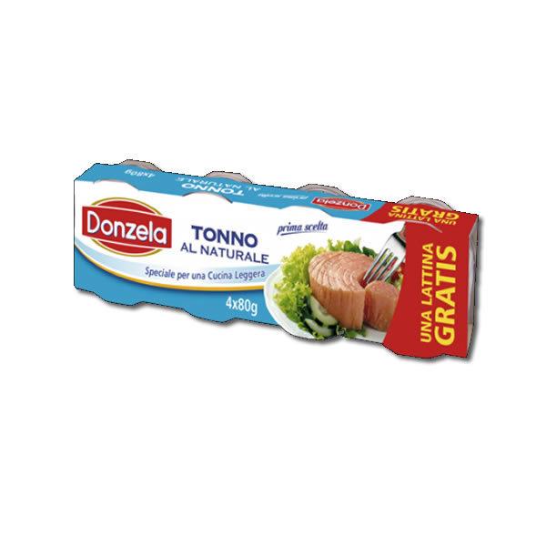 Alimentari Buonconsiglio DONZELA TONNO AL NATURALE 4 X 80 GR