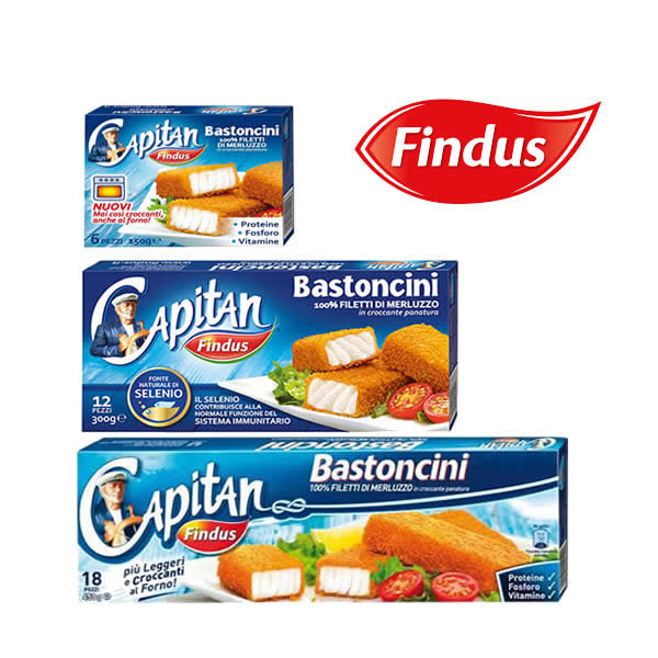 Alimentari Buonconsiglio FINDUS BASTONCINI