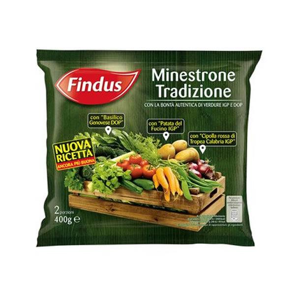 Alimentari Buonconsiglio - FINDUS MINESTRONE TRADIZIONALE IGP GR. 400