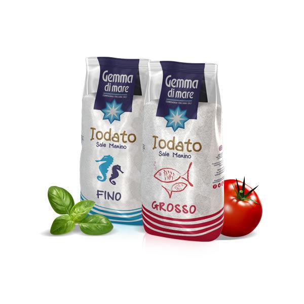 Alimentari Buonconsiglio GEMMA SALE IODATO GROSSO E FINO 1 KG