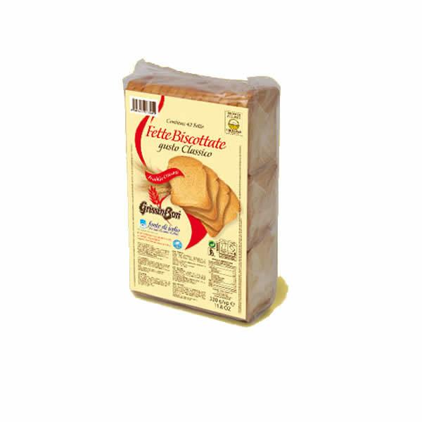 Alimentari Buonconsiglio GRISSIN BON FETTE BISCOTTATE DORATE X 42