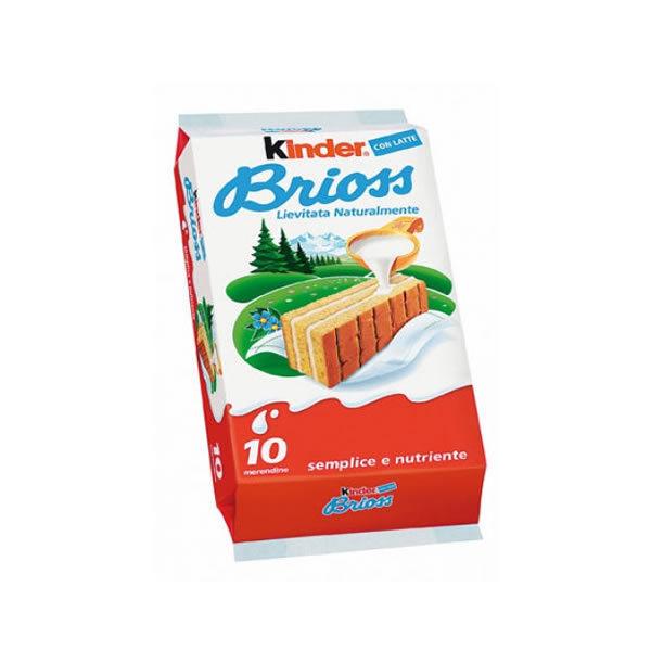 Alimentari Buonconsiglio KINDER BRIOSS 10 PEZZI