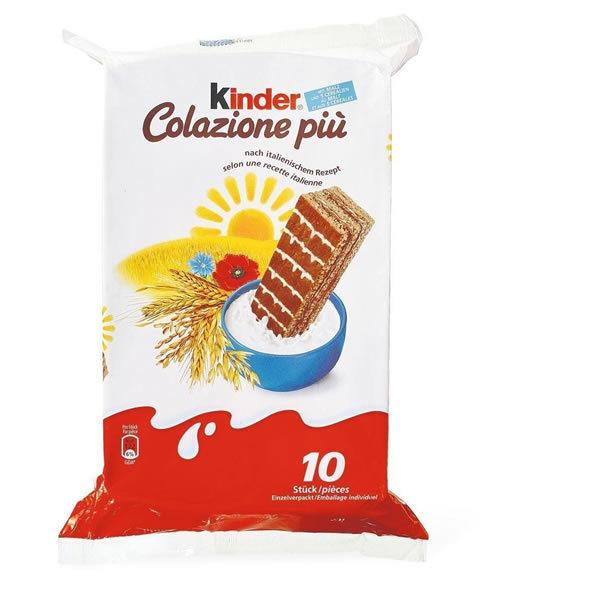 Alimentari Buonconsiglio - KINDER COLAZIONE PIU' X10 12 PEZZI