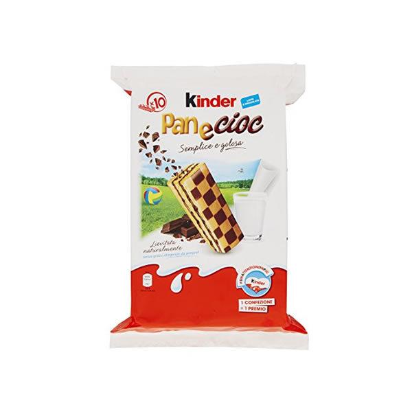 Alimentari Buonconsiglio KINDER PANECIOC 10 PEZZI
