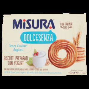 Alimentari Buonconsiglio - MISURA DOLCESENZA CON YOGURT GR. 400
