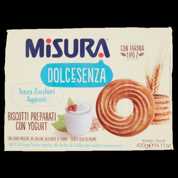 Alimentari Buonconsiglio - MISURA DOLCESENZA CON YOGURT GR. 400 12 PEZZI