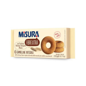 Alimentari Buonconsiglio MISURA FIBRA EXTRA 6 CIAMBELLINE INTEGRALI GR. 230