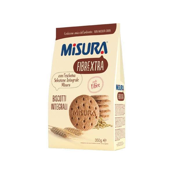 Alimentari Buonconsiglio MISURA FIBRAEXTRA BISCOTTI INTEGRALI 330 GR