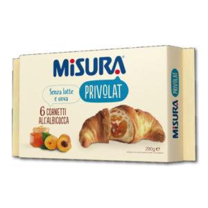 Alimentari Buonconsiglio MISURA PRIVOLAT 6 CORNETTI ALBICOCCA