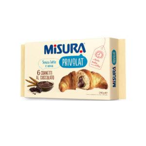 Alimentari Buonconsiglio MISURA PRIVOLAT 6 CORNETTI CIOCCOLATO