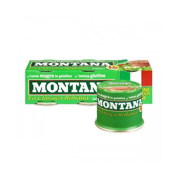 Alimentari Buonconsiglio MONTANA CARNE IN SCATOLA 2 X 70 GR