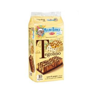 Alimentari Buonconsiglio MULINO BIANCO TEGOLINO 10 PEZZI