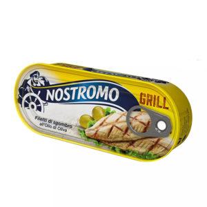 Alimentari Buonconsiglio NOSTROMO FILETTO DI SGOMBRO GRILL OLIO D'OLIVA 120 GR