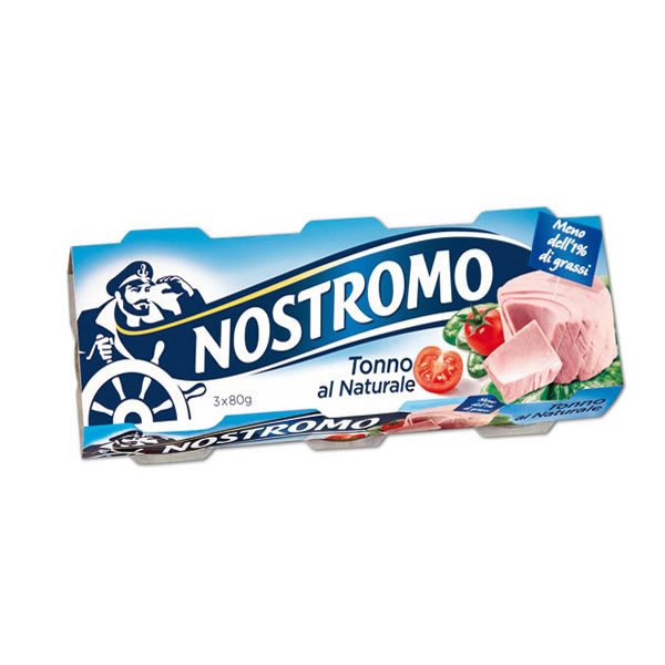 Alimentari Buonconsiglio NOSTROMO TONNO AL NATURALE 3 X 80 GR