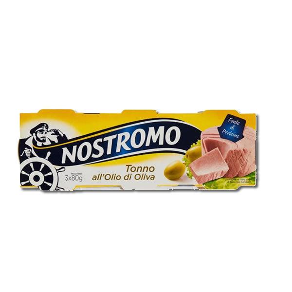 Alimentari Buonconsiglio NOSTROMO TONNO AL' OLIO D' OLIVA 3 X 80 GR