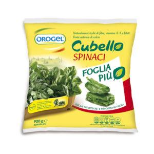 Alimentari Buonconsiglio OROGEL SPINACI CUBELLO FOGLIA PIU' GR. 900