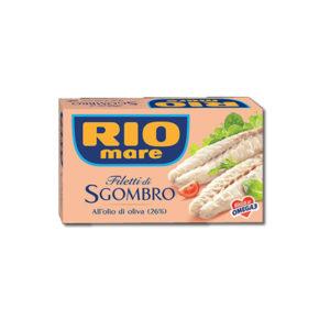 Alimentari Buonconsiglio RIO MARE FILETTO DI SGOMBRO ALL' OLIO D' OLIVA 125 GR