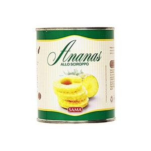 Alimentari Buonconsiglio SAMA ANANAS A FETTE AL NATURALE GR. 580