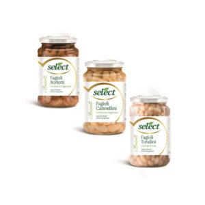 Alimentari Buonconsiglio - SELECT FAGIOLI VARI IN VETRO GR. 360