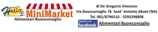 Alimentari Buonconsiglio - Shop Email Registrazione