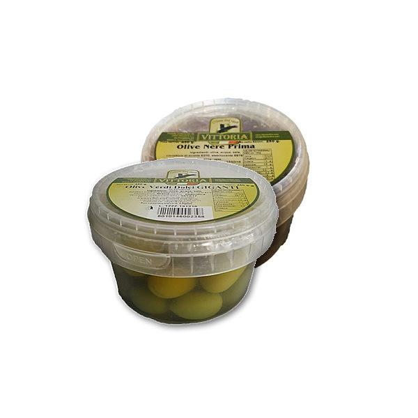 Alimentari Buonconsiglio - VITTORIA OLIVE DOLCI VARIE GR. 250