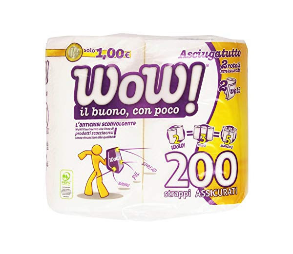 Alimentari Buonconsiglio WOW ASCIUGONI MAXI ROTOLI X 2