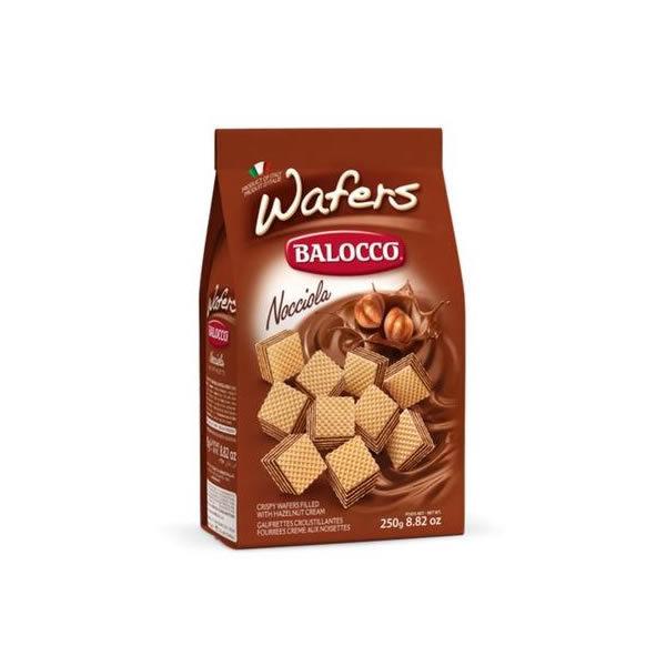 Alimentari Buonconsiglio BALOCCO WAFER 250 GR NOCCIOLA