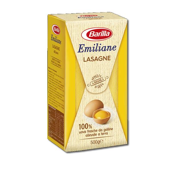 Alimentari Buonconsiglio BARILLA EMILIANE LASAGNE ALL' UOVO 500 GR