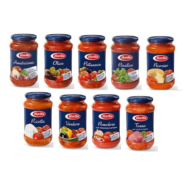 Alimentari Buonconsiglio BARILLA SUGHI PRONTI 400 GR VARI TIPI
