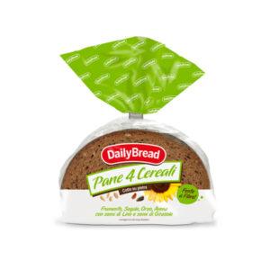 Alimentari Buonconsiglio DAILY BREAD PANE AI 4 CEREALI 500 GR