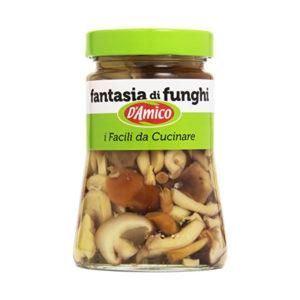 Alimentari Buonconsiglio D'AMICO FANTASIA DI FUNGHI 470 GR
