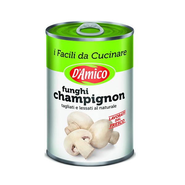 Alimentari Buonconsiglio D'AMICO FUNGHI CHAMPIGNONS GR.400