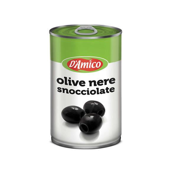 Alimentari Buonconsiglio D'AMICO OLIVE NERE DENOCCIOLATE 350 GR