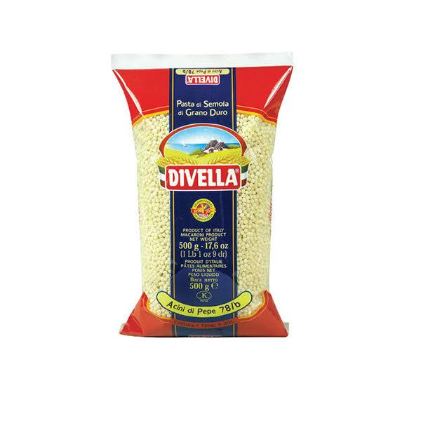 Alimentari Buonconsiglio DIVELLA ACINI DI PEPE 500 GR)