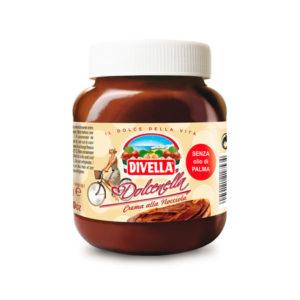 Alimentari Buonconsiglio - DIVELLA DOLCENELLA CREMA SPALMABILE ALLA NOCCIOLA GR. 400