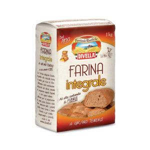 Alimentari Buonconsiglio DIVELLA FARINA INTEGRALE KG.1