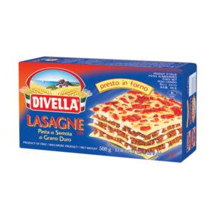 Alimentari Buonconsiglio DIVELLA LASAGNA DI SEMOLA DI GRANO DURO 500 GR